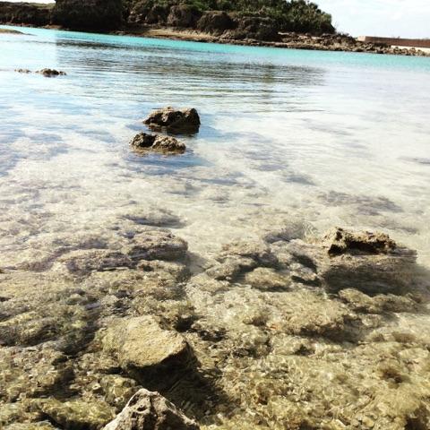 宮古の海は同じ沖縄にいても認めるほど透明度の高さは抜群