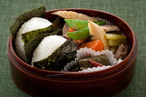弁当|炭水化物の単体食べにならないように!