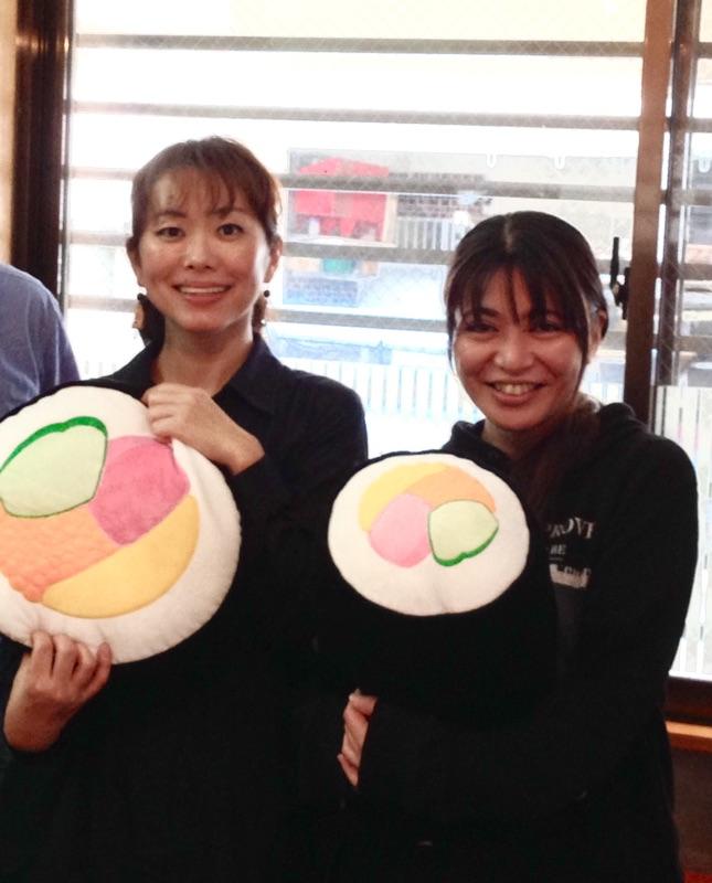バケーションキッチン知念さんと、お米マイスター渡久地奈々子