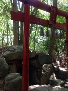 太宰府天満宮の大きな石