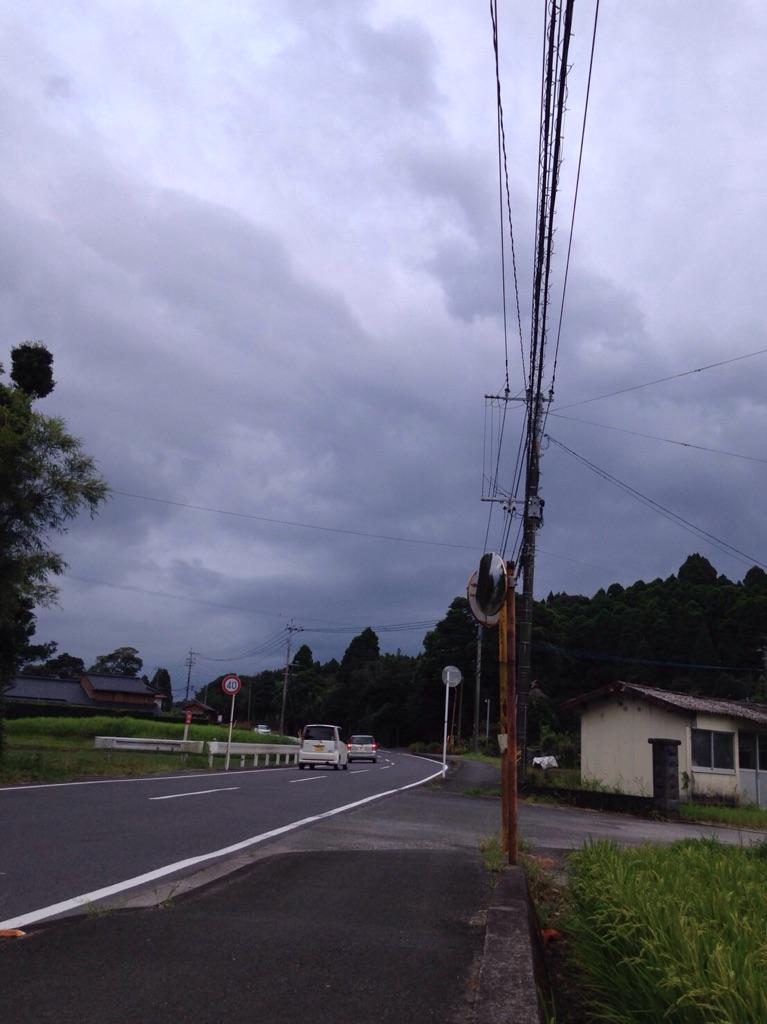 鹿児島に台風が向かっている!田んぼへの影響はあるのか