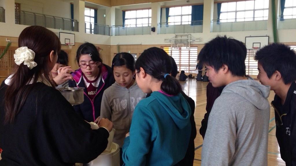 小学校キャリア教育授業プログラム、お米講座の様子3