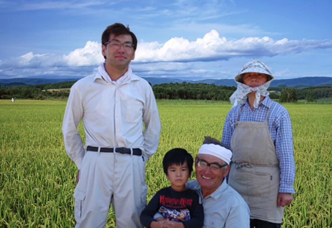 富山県の米農家、大場さん