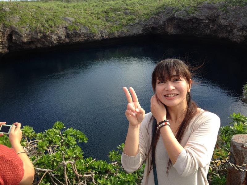 宮古島のダイビングスポットとも名のある「通り池」