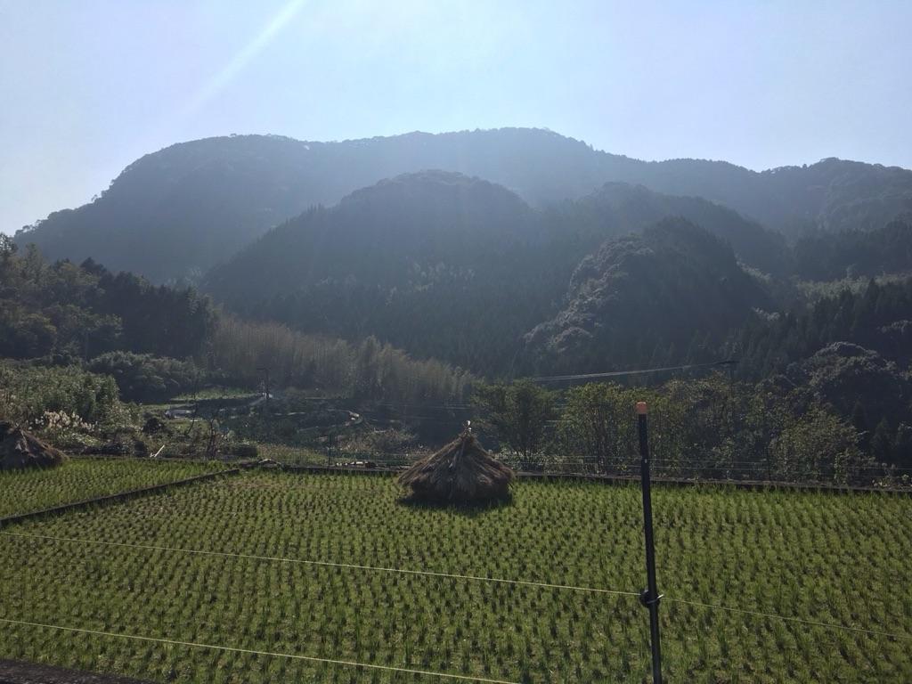 熊本県の田園風景