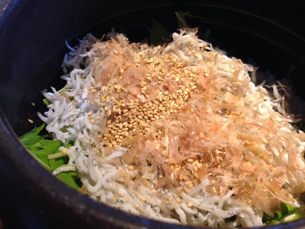 高菜と豚の土鍋ごはん4
