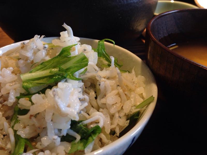 高菜と豚の土鍋ごはん3