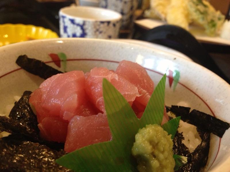 和食を堪能