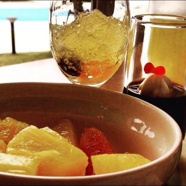 恩納村の万座ビーチリゾートのパイナップル酵素