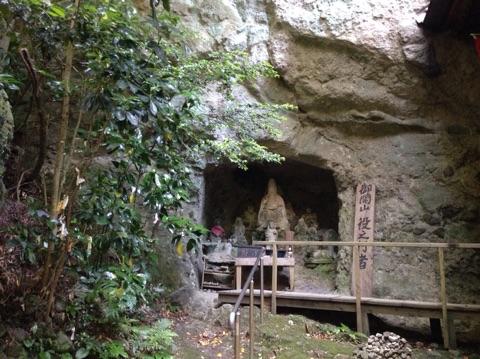 文殊仙寺の石仏