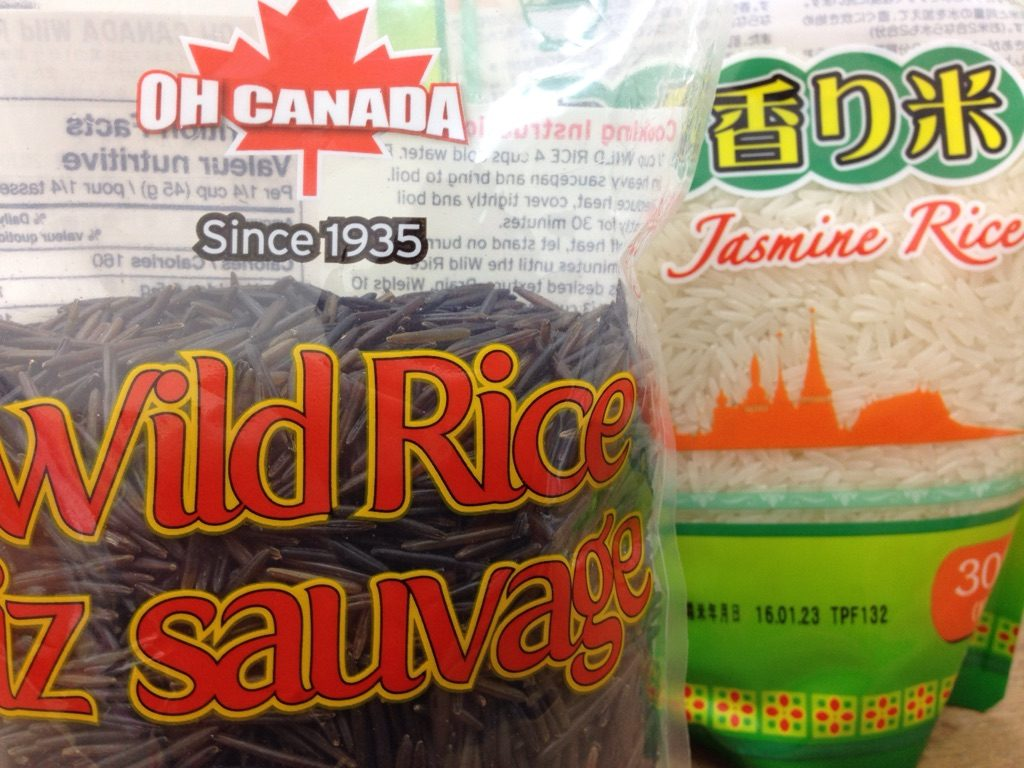 ワイルドライスとジャスミンライス、どんなお米なのかを調べてみた!
