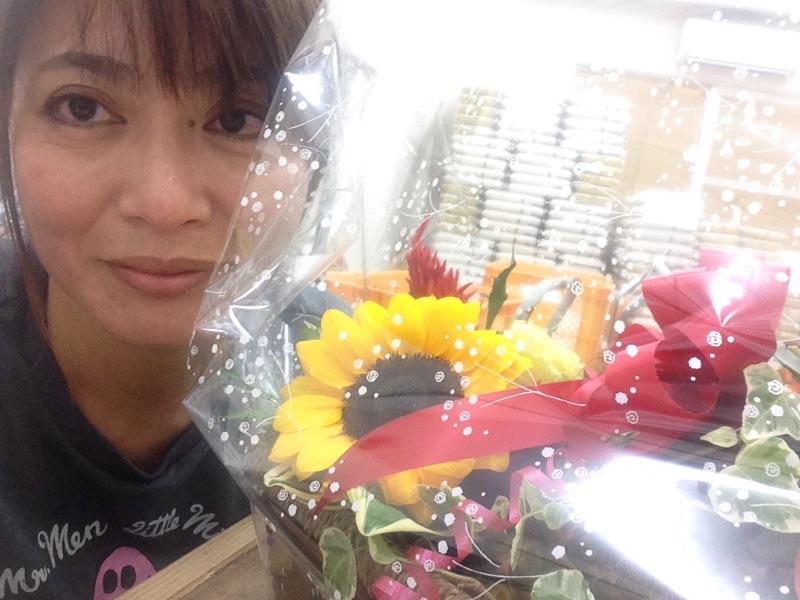 Happy Birthday‼︎お花もいただきました。