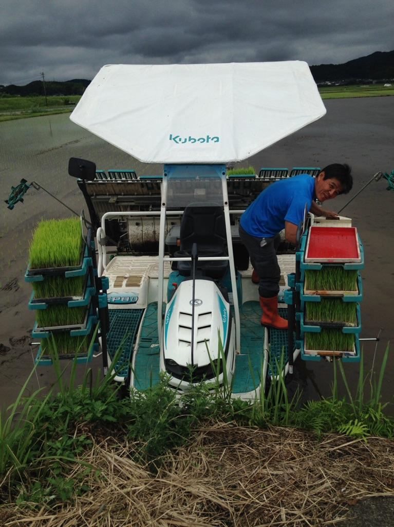 鹿児島の米農家さん、顔の見えるお付き合いです!