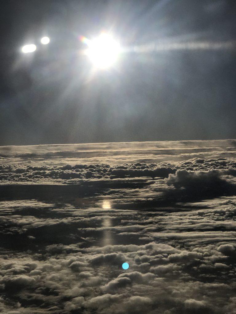 雲海のような景色