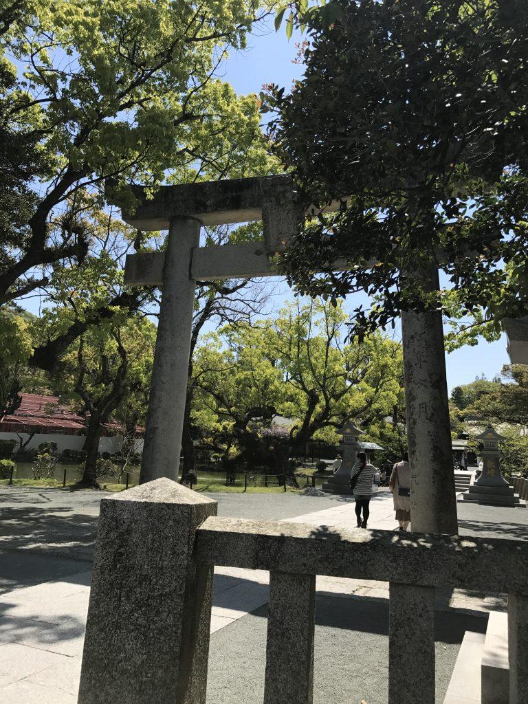 福岡の宗像大社