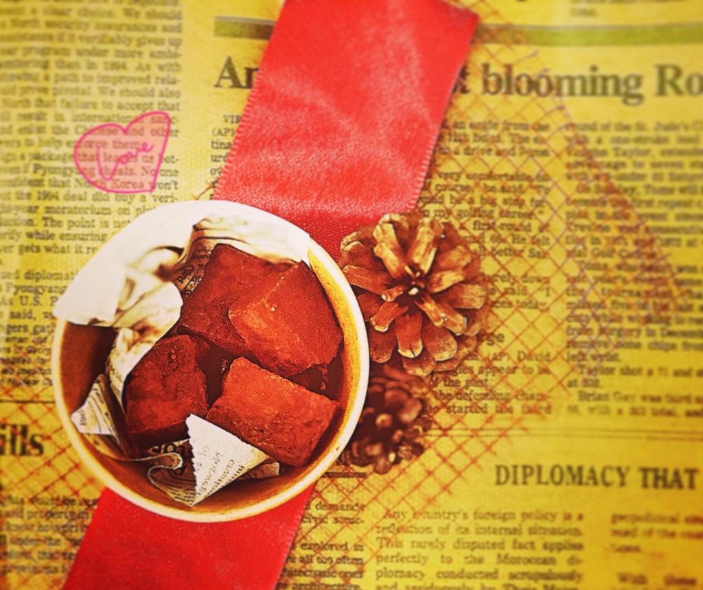 豆腐で生チョコが作れる!?